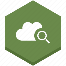 cloud, interface, internet, search, searching, symbols icon