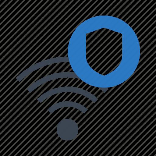 rss, shield, signal, wifi, wireless icon