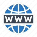 browser, internet, online, world, www icon