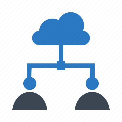 cloud, connect, connection, server, user icon