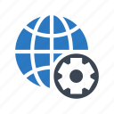 configuration, earth, global, setting, world icon