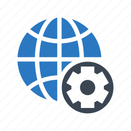 configuration, earth, global, setting, world icon