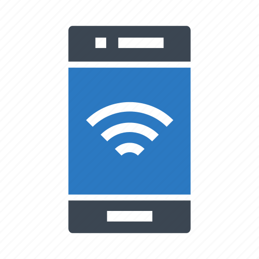 device, mobile, phone, signal, wifi icon