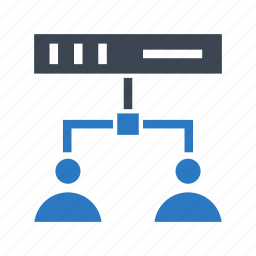 connect, connection, network, router, technology icon
