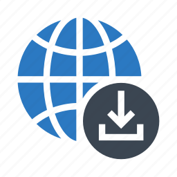 download, earth, global, planet, world icon