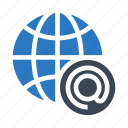browser, earth, global, planet, world icon