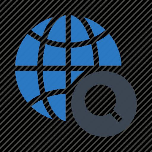 global, globe, planet, search, world icon