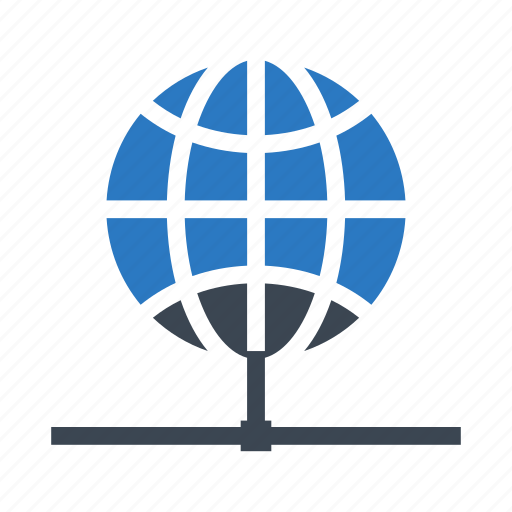 connect, global, network, share, world icon