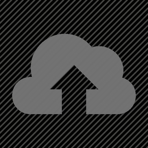 cloud computing, cloud transfer, cloud upload, cloud uploading, data transmission icon