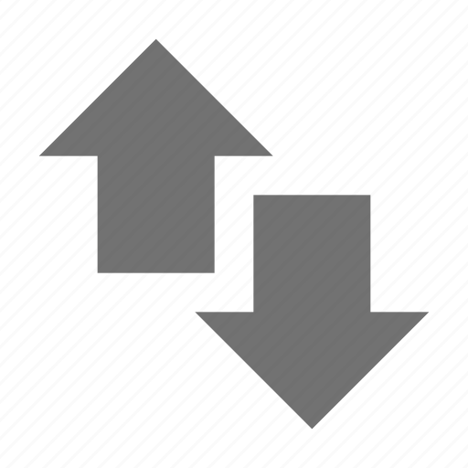 arrows couple, down arrow, opposite arrows, two arrows, up arrow icon