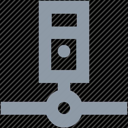database, hosting, network server, server, server connection icon