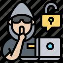 attack, criminal, dangerous, hacker, threat