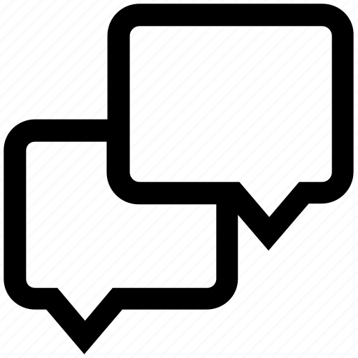 chat, chatting, comment, conversation, discussion, messages, talk icon