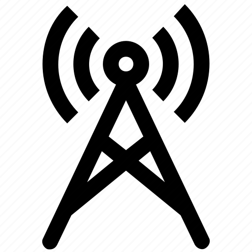 antenna, dish, network, signals, tower, wifi, wifi signals icon