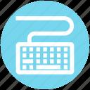 computer, hardware, input, keyboard, technology, typing icon