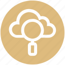cloud, cloud computing, cloud search, interface, magnifier, network, online search