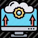 update, data, cloud, transfer, backup