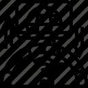 performance, internet, test, speed, upload icon
