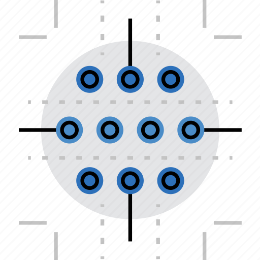 claster, data, hub, information, network, port, structure icon