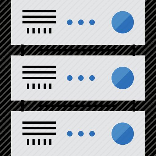 control, data, network, panel, rack, rackmount, server icon