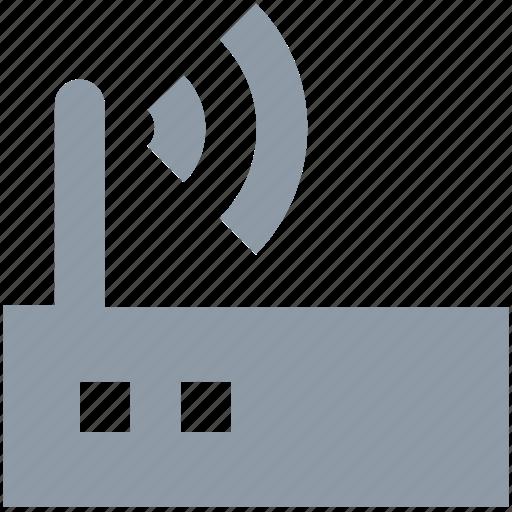 internet, signals, wifi, wifi modem, wifi router icon