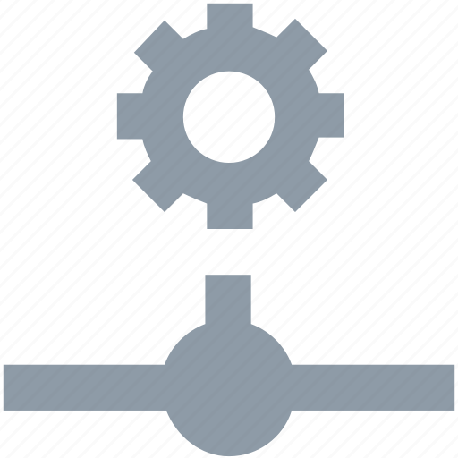 cog, network setting, server, server setting, server tools icon