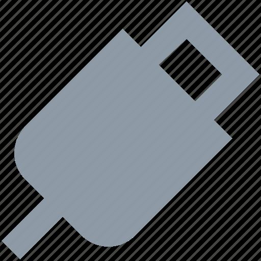 micro usb, usb cable, usb connector, usb cord, usb wire icon