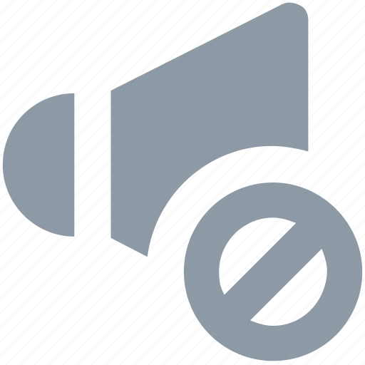 audio mute, mute, mute speaker, sound, sound off icon