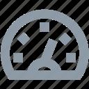 dashboard, gauge, gauge meter, pressure gauge, speedometer icon