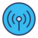 hotspot, network, tethering, wireless icon