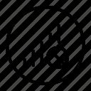 bar, network, no, signal icon
