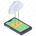 cloud computing, cloud connection, cloud network, cloud storage, cloud technology icon