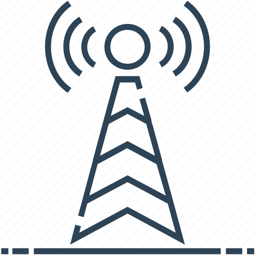 antenna, networking, signals, wifi icon