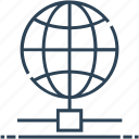 hosting, internet, networking, server globe, world