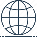 global, globe, internet, networking, world icon