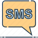 chat, message, networking, sms icon