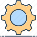 cogwheel, gear, networking, setting, setup