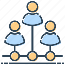 connection, hosting, networking, team, users