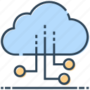 cloud, connection, internet, networking, sharing icon