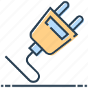 cable, connect, networking, plug, socket icon