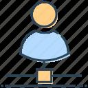 businessman, hosting, networking, people, user