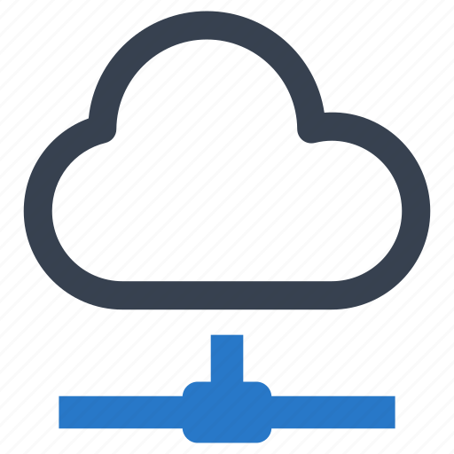 cloud, networking, storage icon