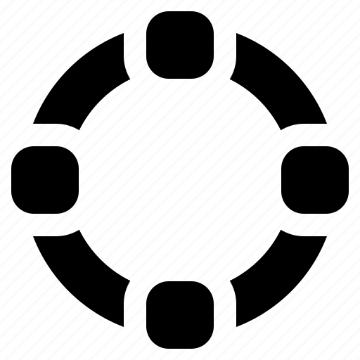 circle, ellipse, path, shape, tool icon