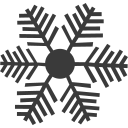 christmas, deciduous, ice, snow, snowflake, winner icon