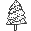 christmas, decoration, plant, tree, winner icon