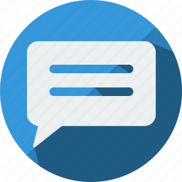 chat, comment, conversation, gap, message, pm, sms icon
