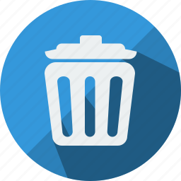bin, delete, exit, junke, recycle, recyclebin, trash icon