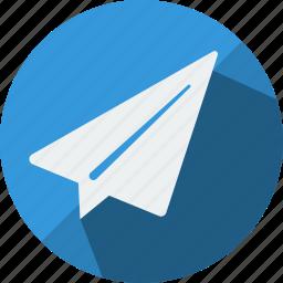 arrow, check, go, ok, send, upload, yes icon