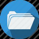 bag, data, document, file, files, folder, type icon