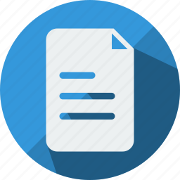 archive, document, fax, file, office, paper, sheet icon